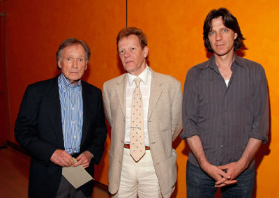 Dick Cavett, Philippe Petit, and James Marsh at Man on Wire (2008)