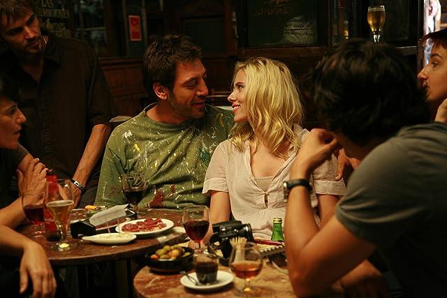 Javier Bardem, Lloll Bertran, Joel Joan, Scarlett Johansson, and Sílvia Sabaté in Vicky Cristina Barcelona (2008)