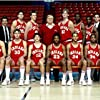 Indiana Hoosiers' team with Bobby Knight