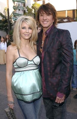 Heather Locklear and Richie Sambora at The Perfect Man (2005)