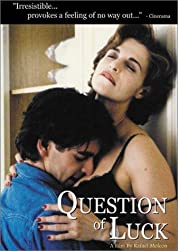 Question of Luck poster