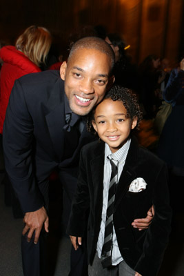 Will Smith and Jaden Smith at The Pursuit of Happyness (2006)