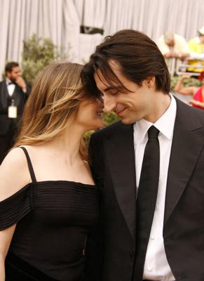 Jennifer Jason Leigh and Noah Baumbach at The 78th Annual Academy Awards (2006)