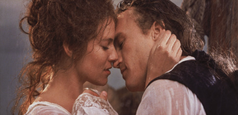 Heath Ledger and Sienna Miller in Casanova (2005)