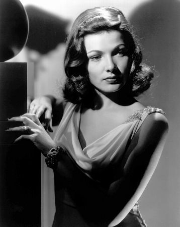Gene Tierney publicity photo for