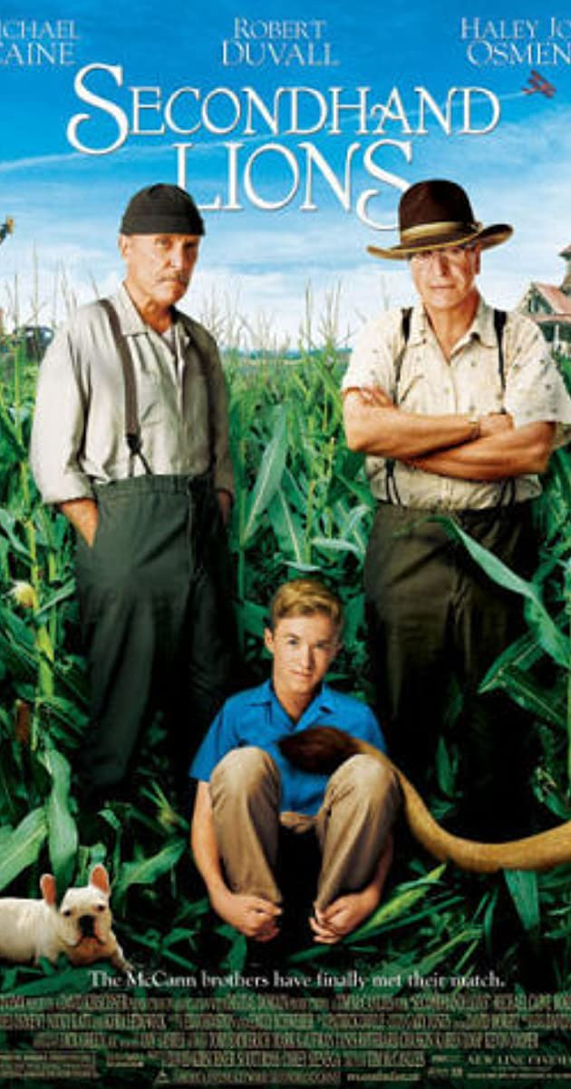 Image result for secondhand lions