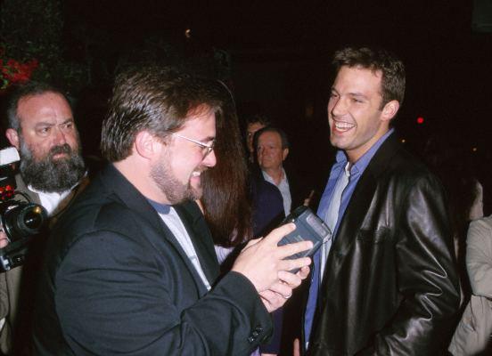 Ben Affleck and Kevin Smith at Dogma (1999)