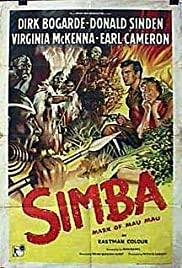 Simba(1955) Poster - Movie Forum, Cast, Reviews