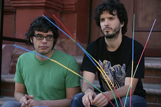 Bret McKenzie and Jemaine Clement in Flight of the Conchords (2007)