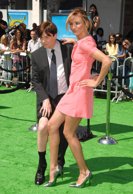 Cameron Diaz and Mike Myers at Shrek the Third (2007)