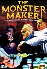 The Monster Maker Poster