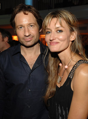 David Duchovny and Natascha McElhone at Weeds (2005)