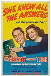 She Knew All the Answers Poster