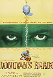 Donovan's Brain (1953) Poster - Movie Forum, Cast, Reviews
