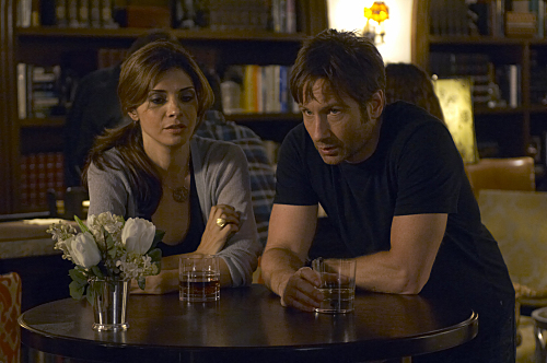 David Duchovny and Callie Thorne in Californication (2007)