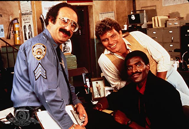 Harvey Atkin, Martin Kove, and Carl Lumbly in Cagney & Lacey (1981)