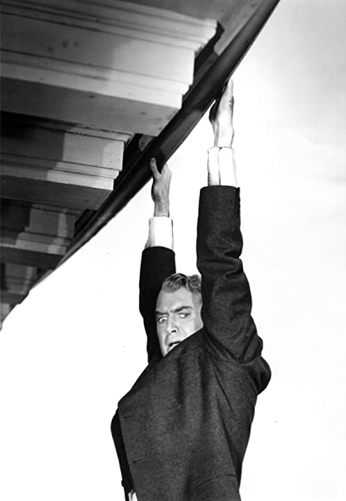 James Stewart in Vertigo (1958)