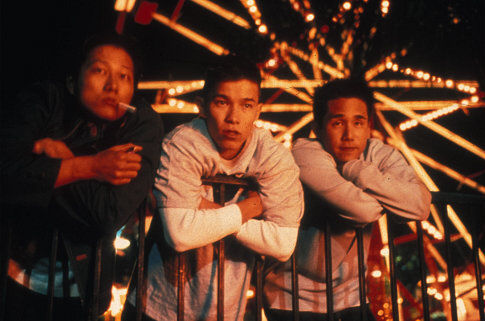 Sung Kang, Parry Shen, and Jason Tobin in Better Luck Tomorrow (2002)