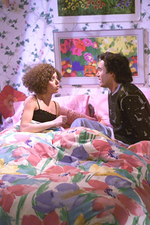 Eric McCormack and Debra Messing in Will & Grace (1998)