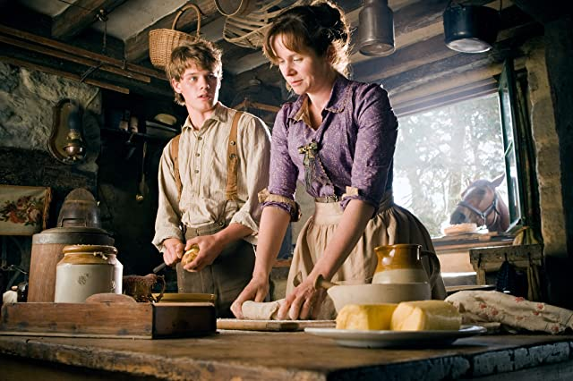 Emily Watson and Jeremy Irvine in War Horse (2011)