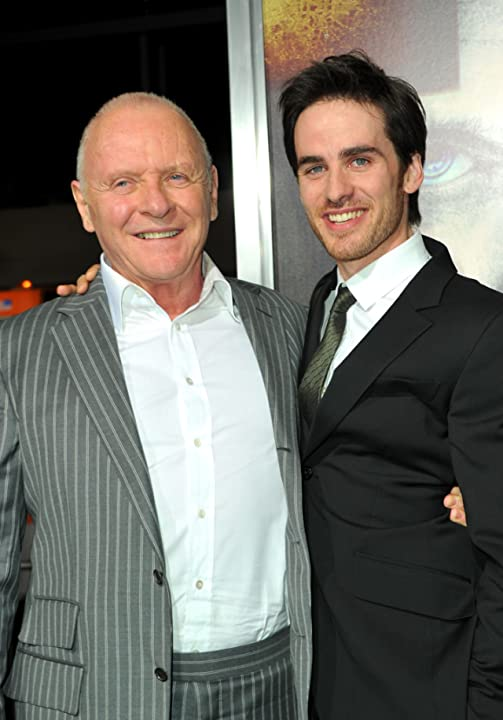 Anthony Hopkins and Colin O'Donoghue at The Rite (2011)