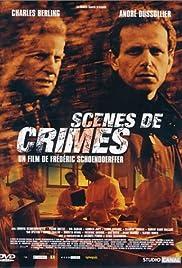 Scènes de crimes Poster