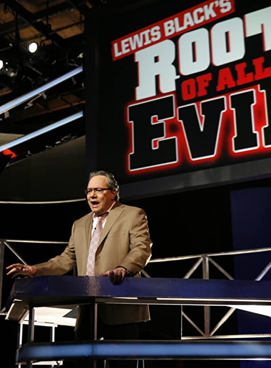 Lewis Black in Root of All Evil (2008)