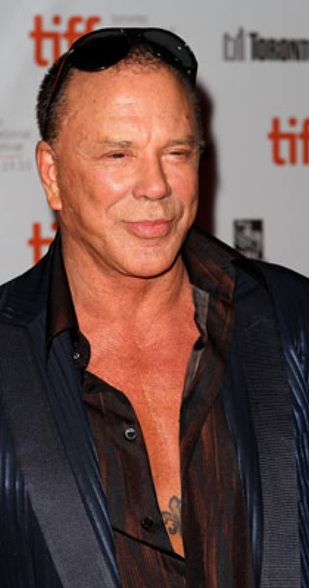 Mickey Rourke naked 509