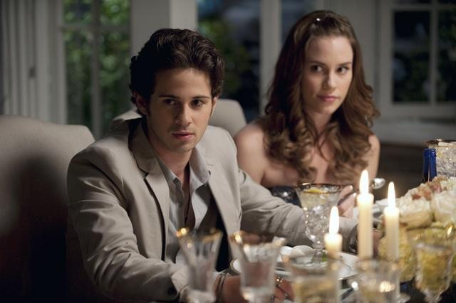 Connor Paolo and Christa B. Allen in Revenge (2011)