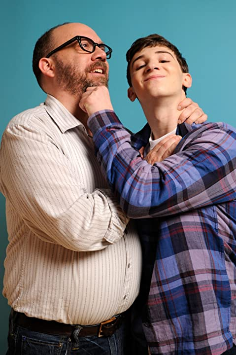 Paul Giamatti and Alex Shaffer
