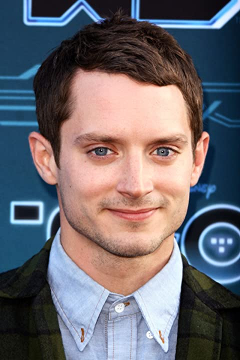 Elijah Wood and Krisztián Éder at TRON: Uprising (2012)