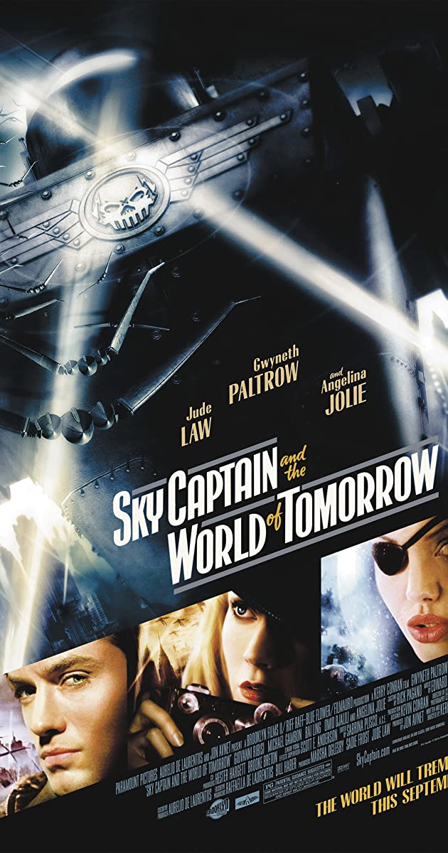 Padangių kapitonas ir ateities pasaulis / Sky Captain and the World of Tomorrow (2004) online