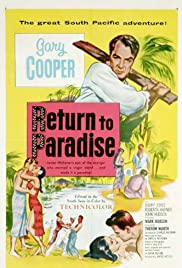 Return to Paradise (1953) Poster - Movie Forum, Cast, Reviews