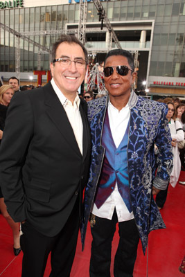 Jermaine Jackson and Kenny Ortega at This Is It (2009)