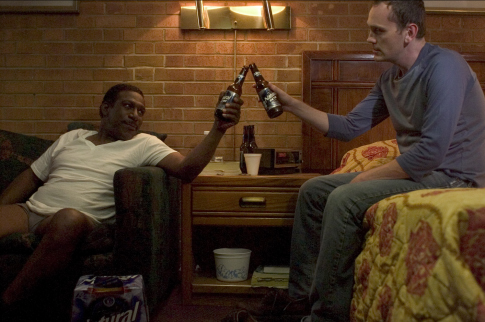 Pat Healy and Kene Holiday in Great World of Sound (2007)