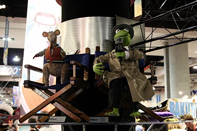Kermit and Ratso at the Profiles in History booth