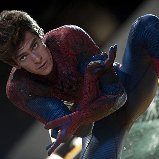 Andrew Garfield in The Amazing Spider-Man (2012)