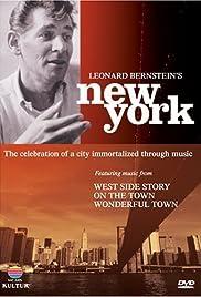Leonard Bernstein's New York Poster