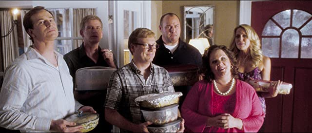 Bill Brochtrup, Melissa McCarthy, Will Sasso, and Rob Huebel in Life as We Know It (2010)
