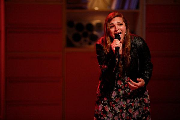 Aylin Bayramoglu in The Glee Project (2011)