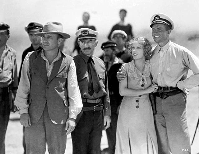 Robert Armstrong, Bruce Cabot, Frank Reicher, and Fay Wray in King Kong (1933)