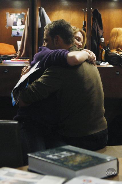 Katherine Heigl and Justin Chambers in Grey's Anatomy (2005)