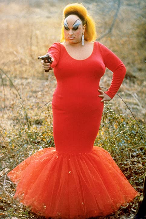 Divine in Pink Flamingos (1972)