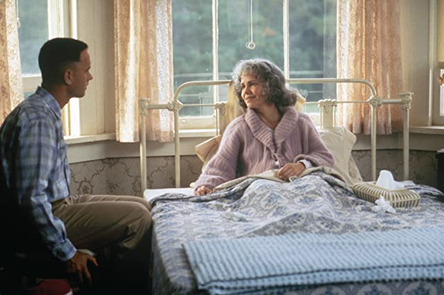 Tom Hanks and Sally Field in Forrest Gump (1994)
