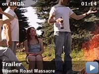 Weenie Roast Massacre -- A former high school football star starts to notice strange things at the annual weenie roast. As the line between reality and illusion blurs, the only thing you can count on is the body count.