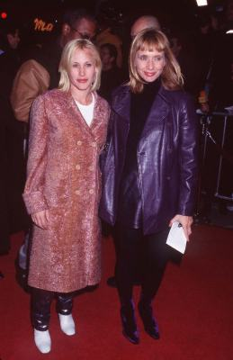 Patricia Arquette and Rosanna Arquette at Jackie Brown (1997)