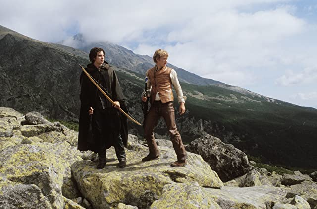 Garrett Hedlund and Ed Speleers in Eragon (2006)