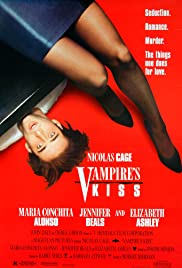 Vampire's Kiss (1988) Poster - Movie Forum, Cast, Reviews