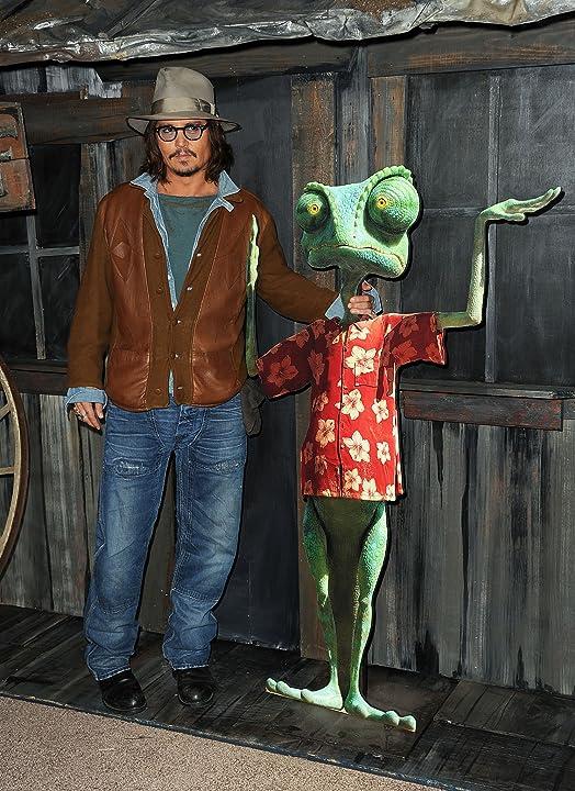 Johnny Depp at Rango (2011)