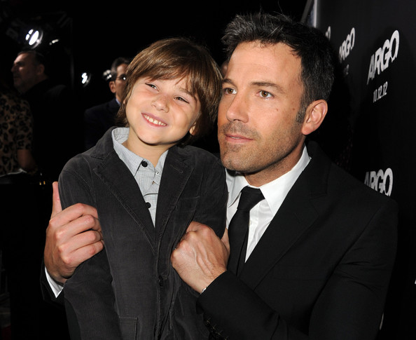 Aidan & Ben Affleck on the red carpet at the LA premiere of ARGO.